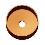 Кухонная мойка интегрированная круглая D450