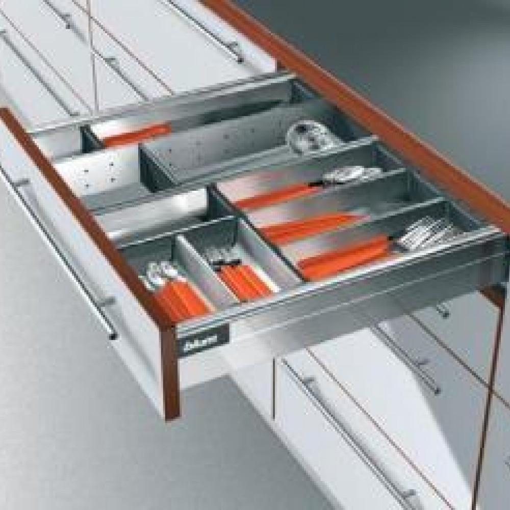 Выдвижные ящики Blum - M- под столовые приборы