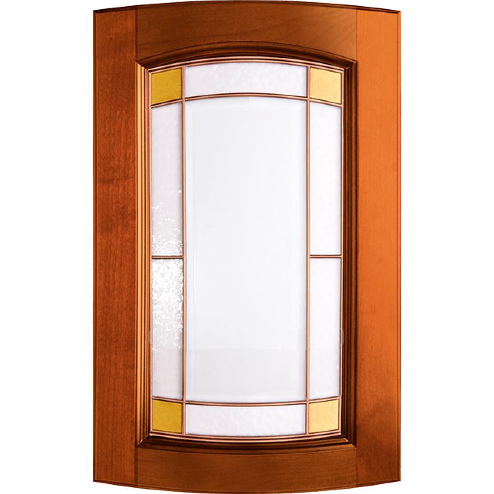 """Мебельный фасад из массива под стекло радиусный модель - """"Арка"""""""