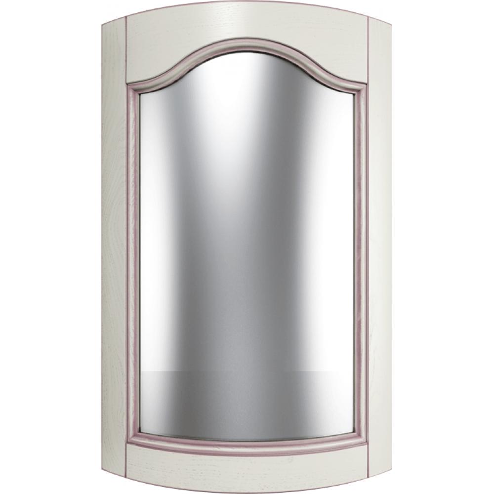"""Мебельный фасад из массива под стекло радиусный модель - """"Арка с плечом"""""""